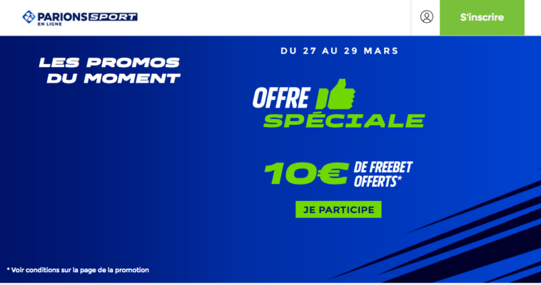 Matched Betting France 10€ Offert