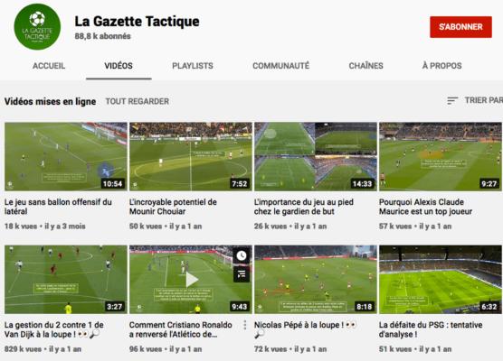 Chaine Youtube La Gazette Tactique