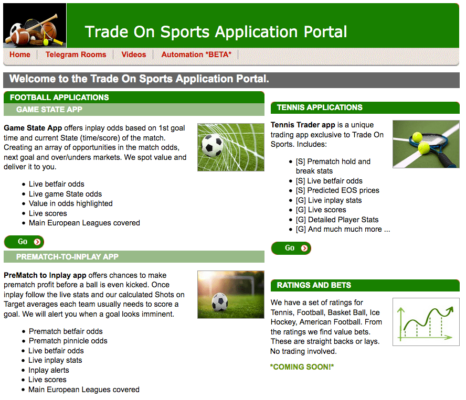 Trade On Sports Presentation